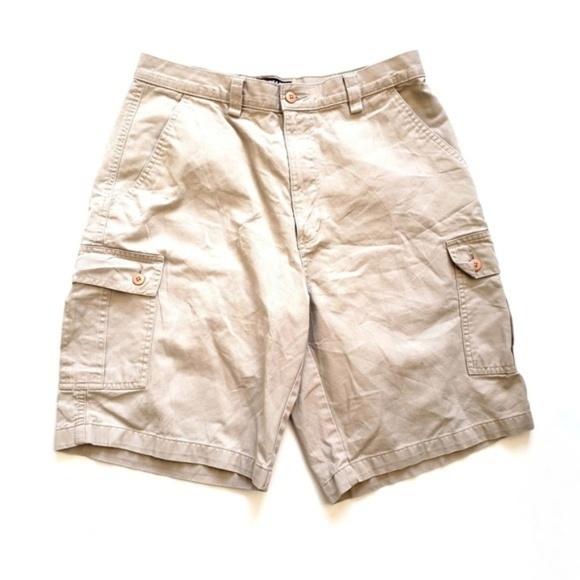 7423df5494 Chaps Shorts | Ralph Lauren Khaki Cargo | Poshmark